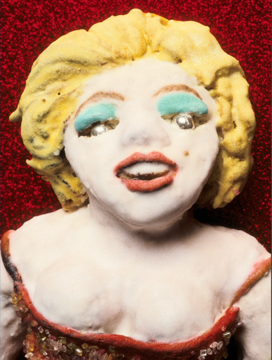 Sculpture-Marylin