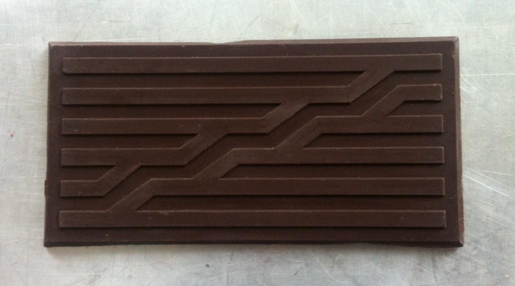 Chocolat noir ou au lait de Boris Tissot. Hommage à Jean Widmer